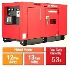 موتور برق دیزلی المکس Elemax