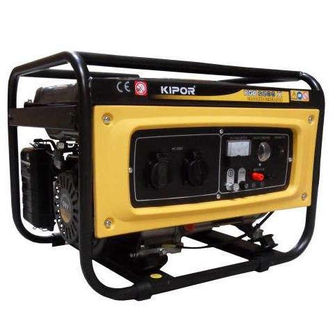 موتور برق بنزینی کیپور KGE2500